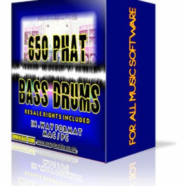 650 Phat Kick Drums