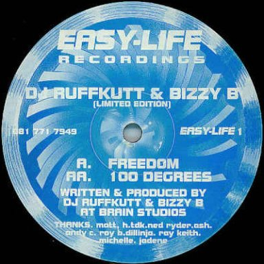 Freedom ( DJ Ruffcutt and Bizzy B ) EZ Life